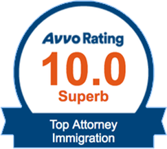 Avvo Superb Rating Immigration