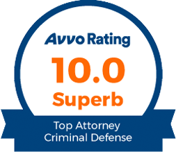 Avvo Superb Rating Criminal Defense